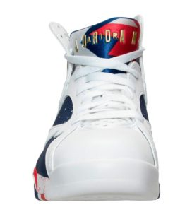 Air Jordan 7 Retro White/Metallic Gold Coin-Deep Royal Blue-Fire Red-Lite Iron Ore (Tinker Alternate)