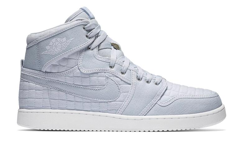 Air Jordan 1 Retro High KO Pure Platinum/White-Metallic Silver
