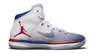 Air Jordan XXX1 (31) White/University Red-Deep Royal Blue (USA)