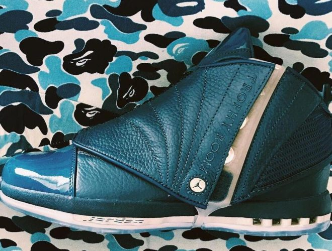 Trophy Room x Air Jordan 16 French Blue