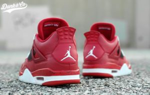 Air Jordan 4 Red Cleats