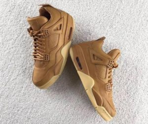 Air Jordan 4 Retro Premium Ginger/Gum Yellow