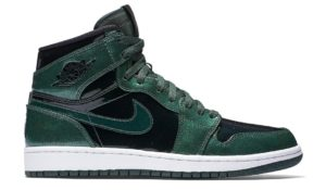 Air Jordan 1 Retro High Grove Green Black/Grove Green-White