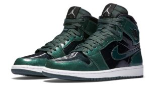 Air Jordan 1 High Grove Green Black/Grove Green-White