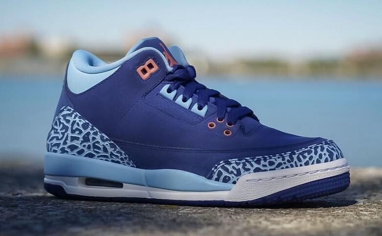 Air Jordan 3 GS Blue Cap