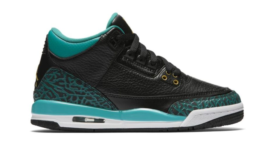Air Jordan 3 Retro GS Rio Teal