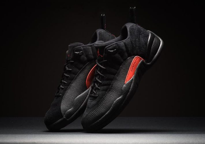 Air Jordan 12 Low Max Orange