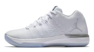 Air Jordan XXX1 Low Pure Platinum
