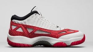 Air Jordan 11 Low IE Fire Red