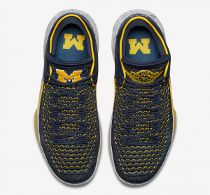"59cd8263e12 Air Jordan 32 Low ""Michigan"" To Release Early March - 23 Is Back"