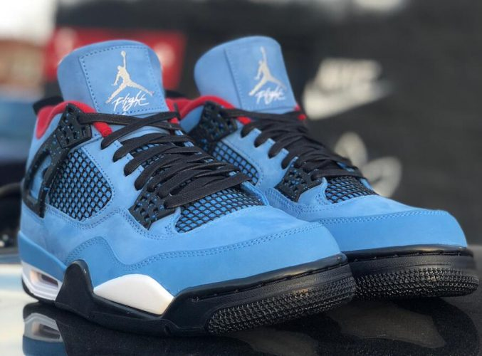 Travis Scott x Air Jordan 4 Houston Oilers