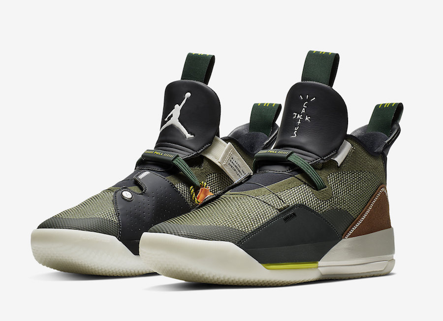 Travis Scott x Air Jordan 33 NRG
