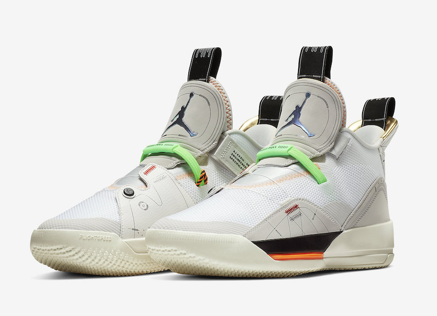 Air Jordan 33 Vast Grey